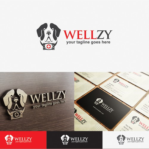 Create a new logo for a healthcare ratings company Wellzy