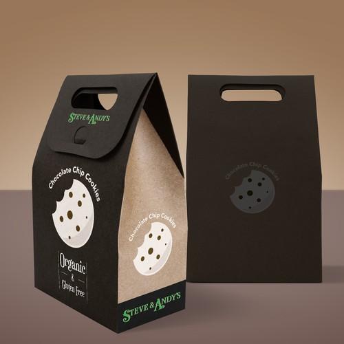Organic Cookies Package Design