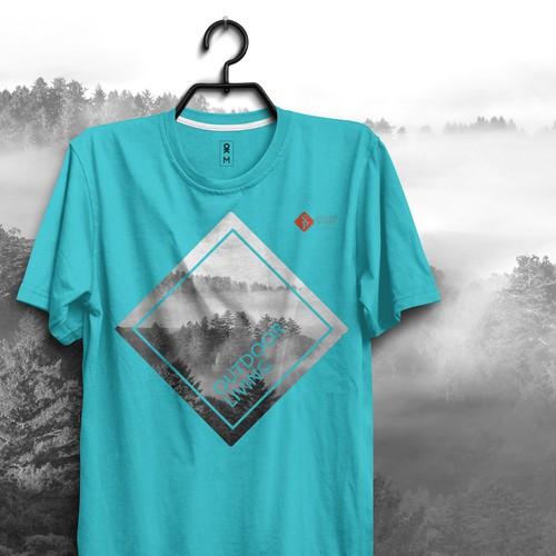 Camiseta Outdoor Living