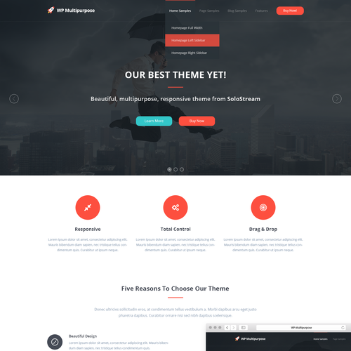 Design a great WordPress theme