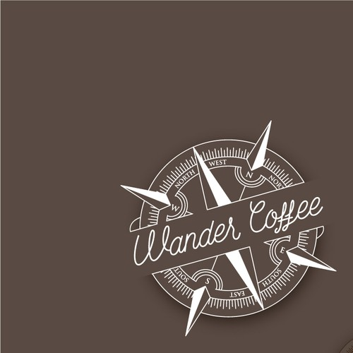 Logo concept for Wander Coffee