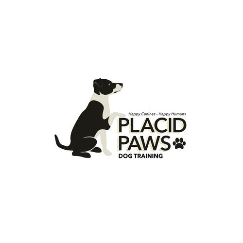 Logo for dog training business