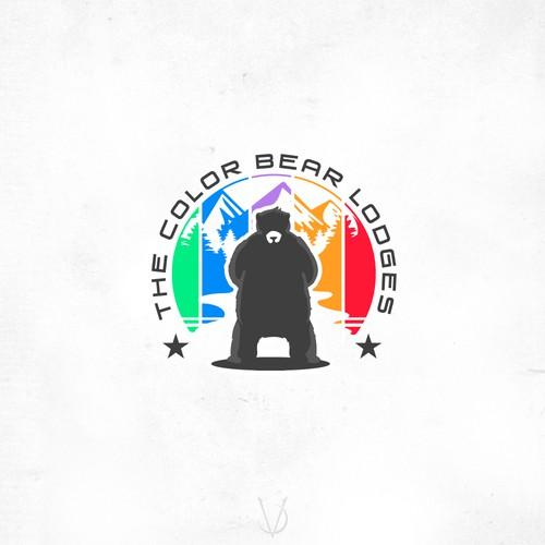 The Color Bear Lodges