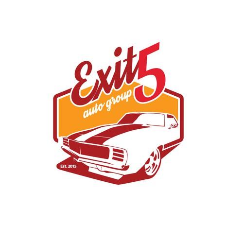 vintage car logo
