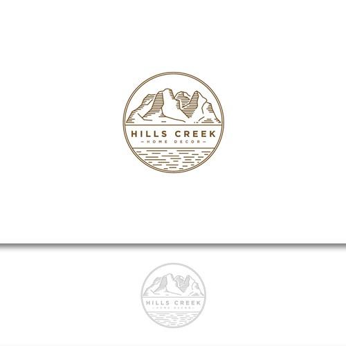Logo for Hills Creek Home Decor