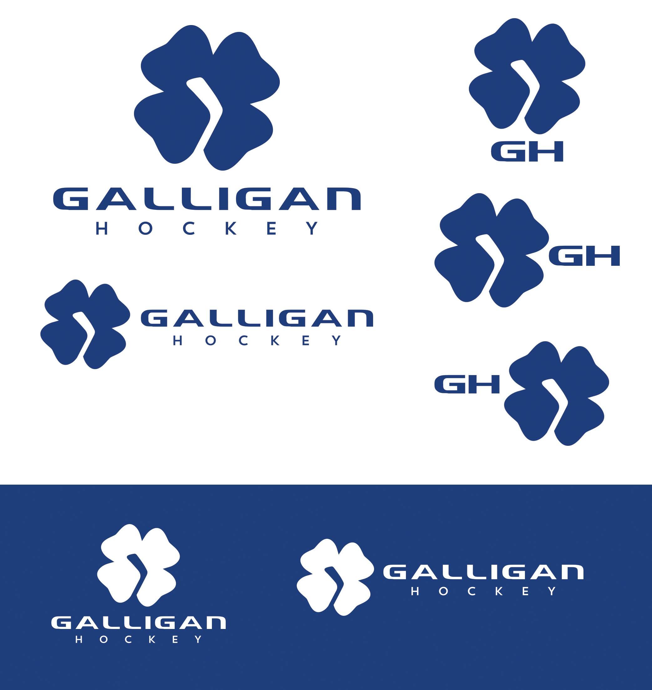 Galligan Hockey- I need a  clean classy logo to accompany the launch of my Ice Hockey Program !