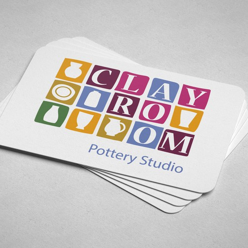 Logo pottery Studio