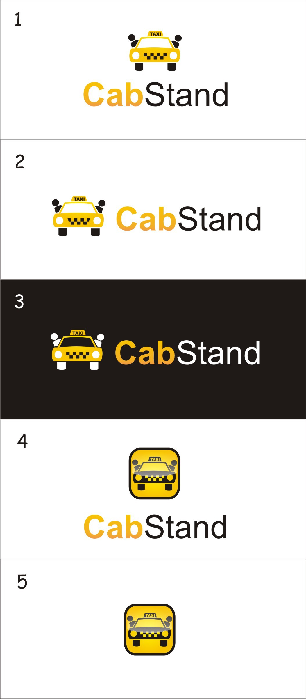 Cool logo/icon wanted for CabSharing iOS app!
