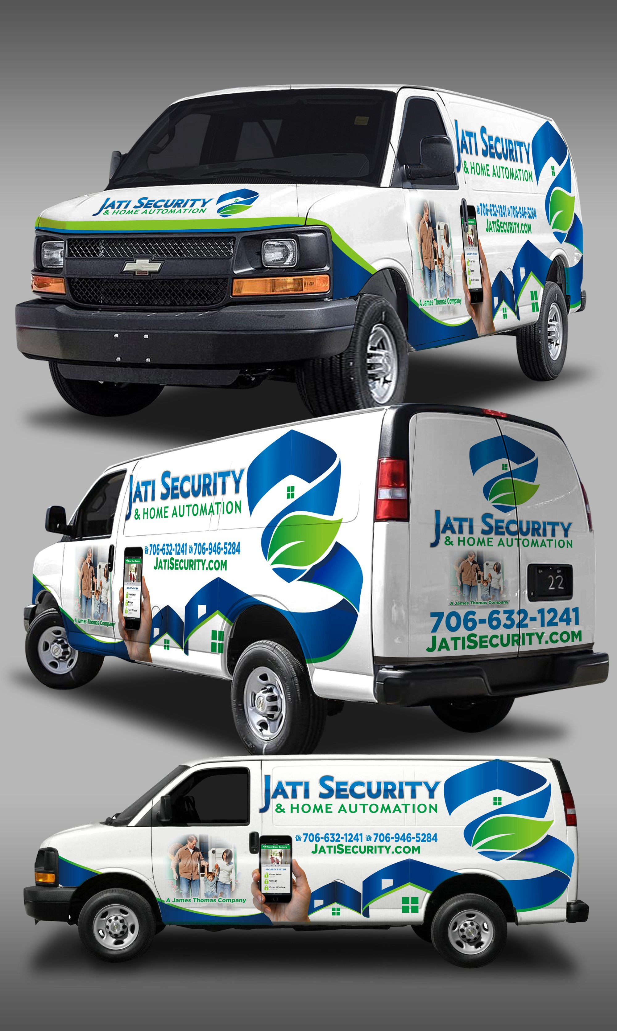 Lock-In a fabulous Security Van Wrap contest prize with your great design!