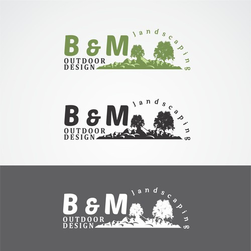 BnM Outdoor Design Logo