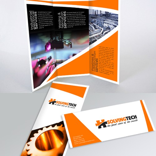 brochure design for SolvingTech Inc