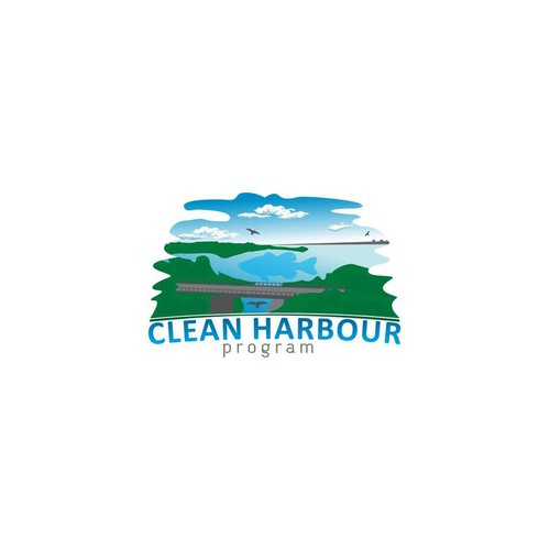 Help Clean Harbour Project   (focus on the Clean Harbour Text) with a new logo