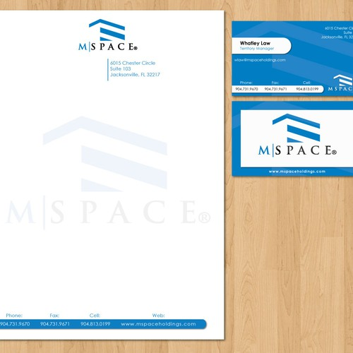 Business Card and Company Letterhead
