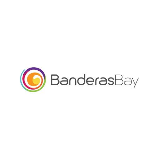 BanderasBay Logo design
