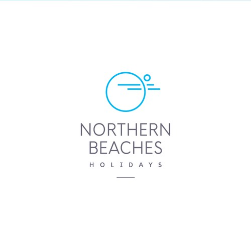 Logo concept for Northern Beaches Holidays
