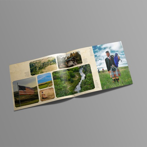 magazine concept for golf course