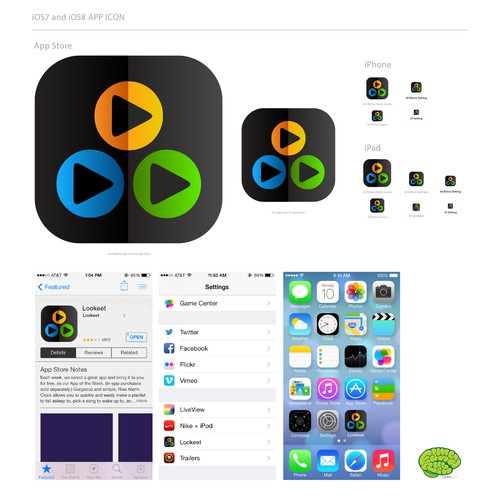 Update Existing App Icon (design provided)