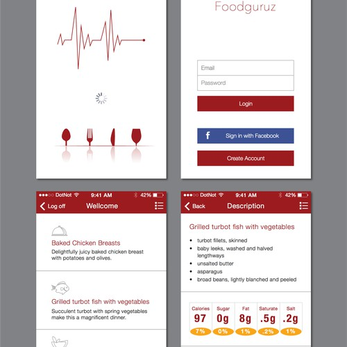 Health and Food app