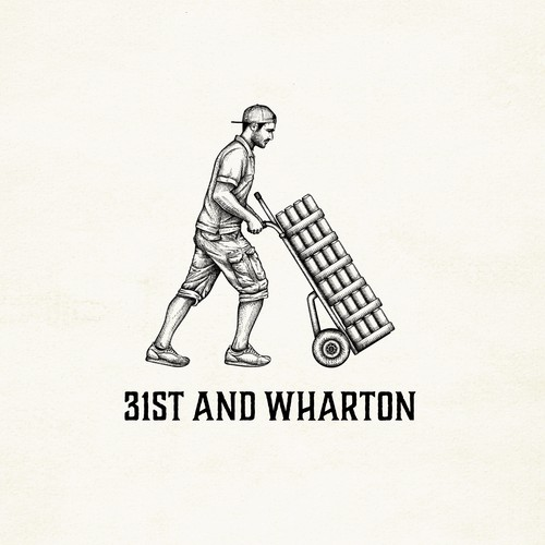 Logo-illustration for 31st and Wharton  - wholesaler based in Philadelphia