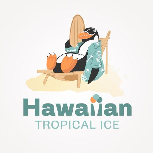 Create Tropical Logo for Hawaiian Made Sorbet