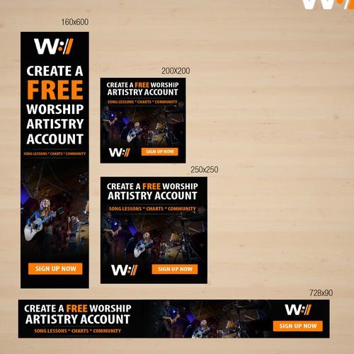 Music Web Banner