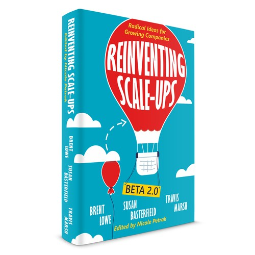 Book Cover Design for Reinventing Scale-Ups