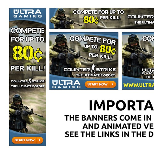 Ultra Gaming Banner Ad
