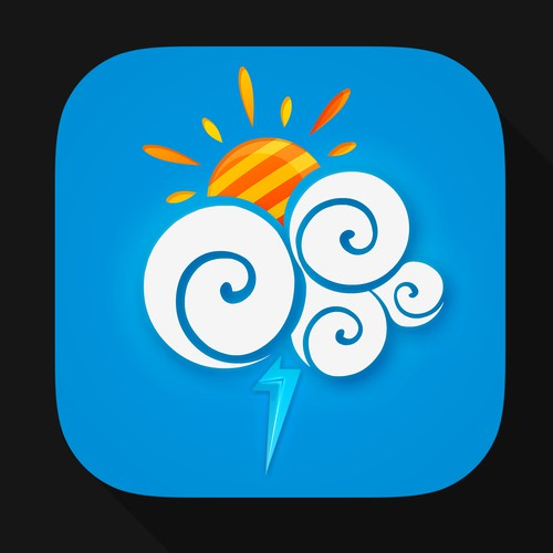 App Icon for iOS Weather App