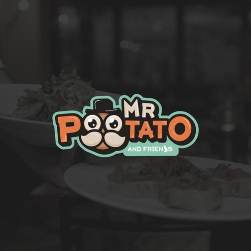 Mr Potato logo concept