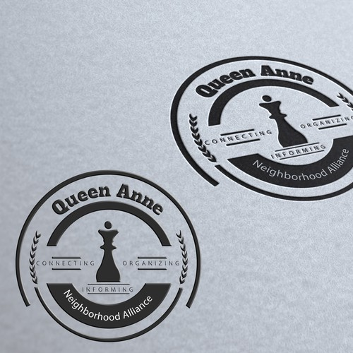 Create a professional logo for a community organization