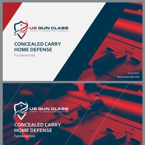 PowerPoint Template for US Gun Class