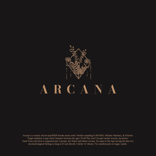 Logo design for ARCANA