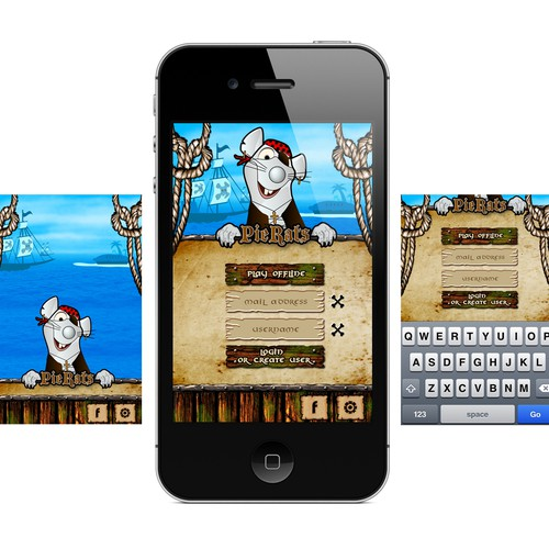 Pierat Game App - rework
