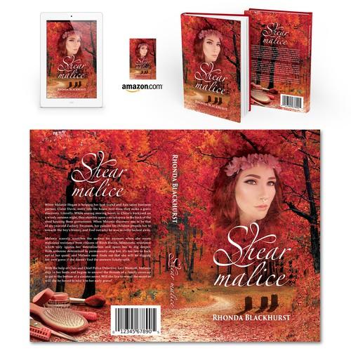 "Book cover for ""Shear Malice"" by Rhonda Blackhurst"