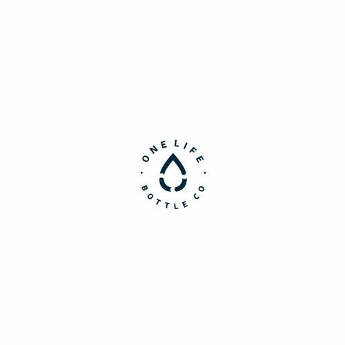 Water bottling company logo