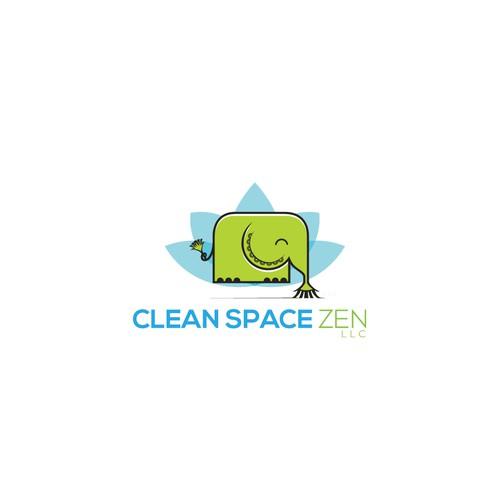 Clean Space Zen logo