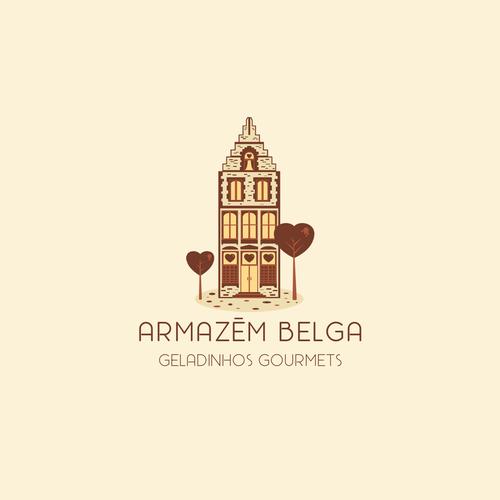 """Logo concept for """"Armazem Belga"""""""