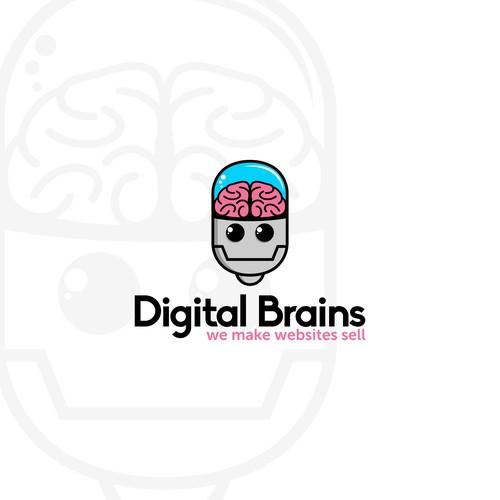logo for Digital Brains