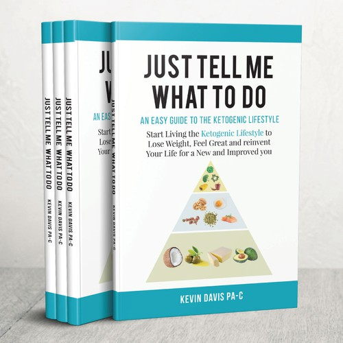 Design an eye catching book on the ketogenic lifestyle