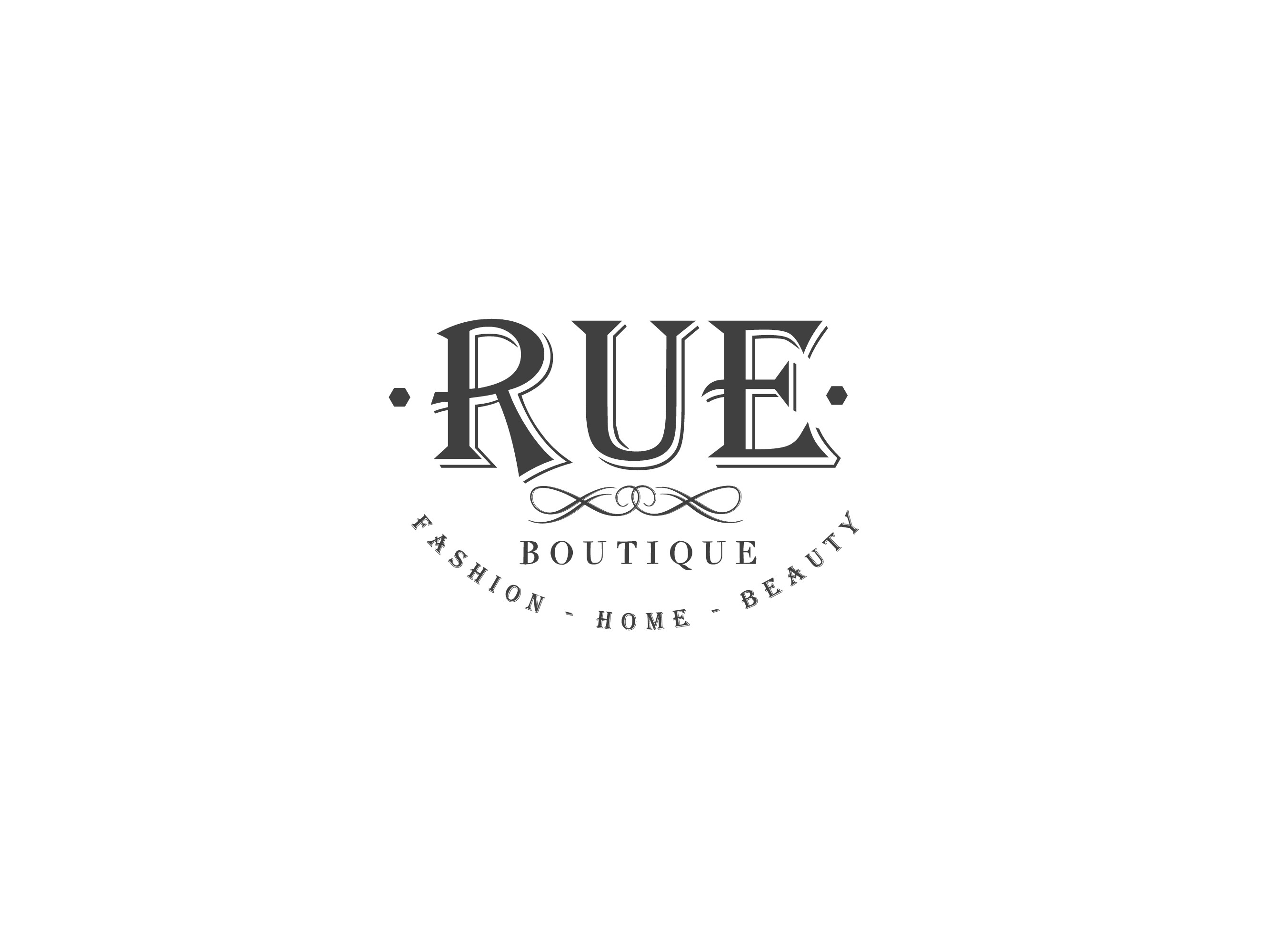 Logo design for high end fashion boutique. It needs to look modern/ rustic.