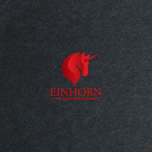 Logo concept for Einhorn Manufaktur