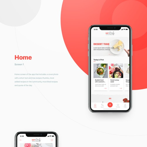 Food Recipes App
