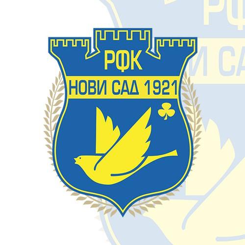 Official emblem of FC Novi Sad from Serbia