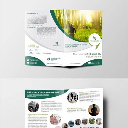 Principles Brochure Design