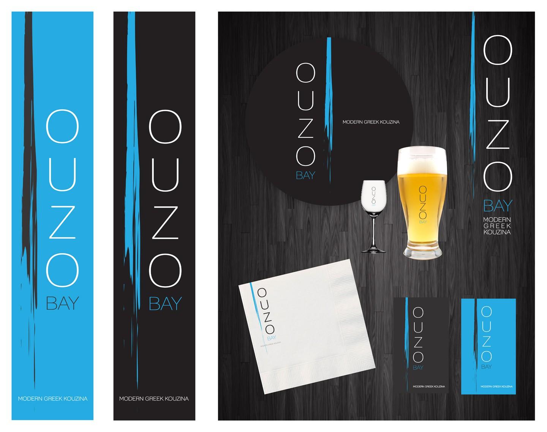 Logo for Restaurant SIGN: Ouzo Bay