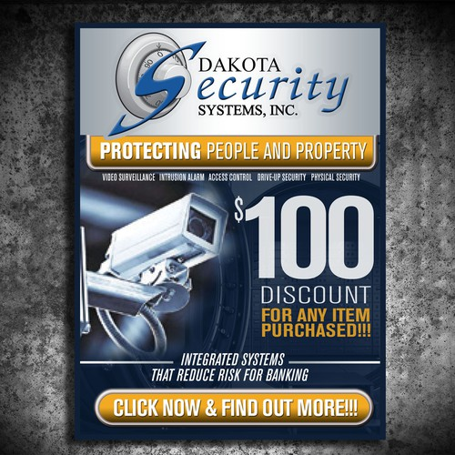 Bank Security Banner Ad