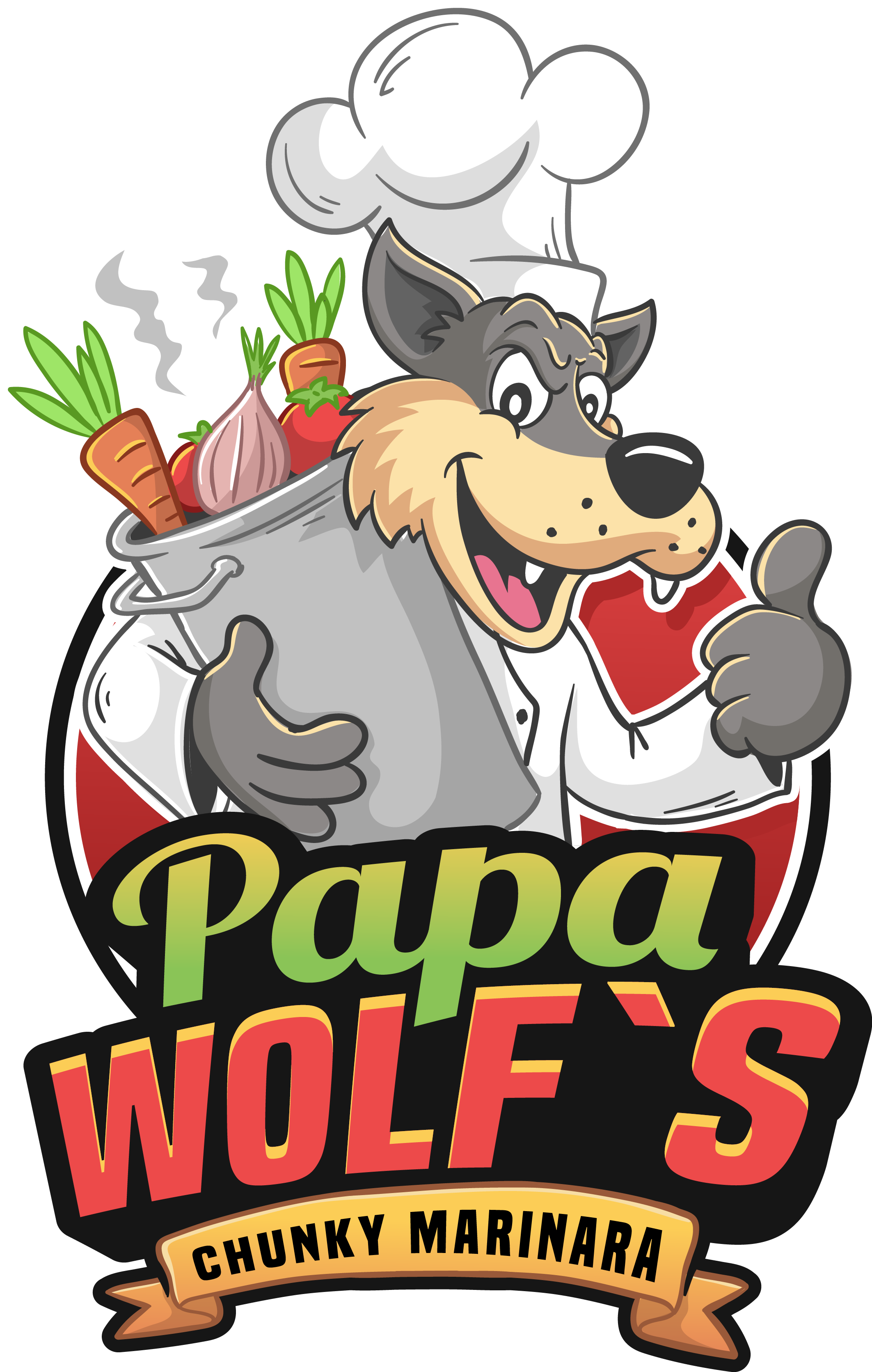 Cool Wolf design for new Italian line of food products for supermarkets