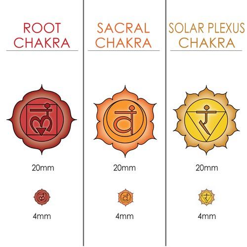 Chakra Symbols for Essential Oil Blends