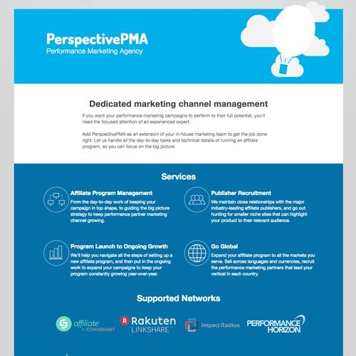 Performance Marketing Agency Website