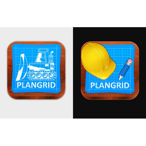 Construction based icon design